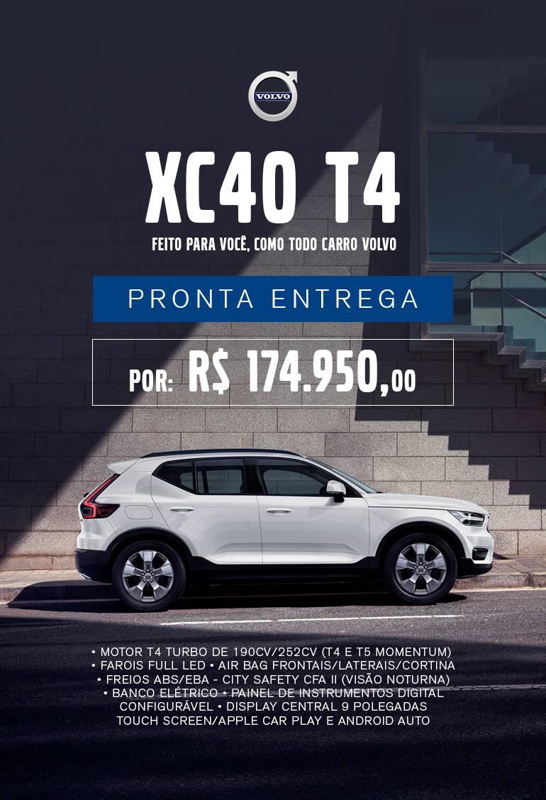 Oferta do mês - XC40 T4