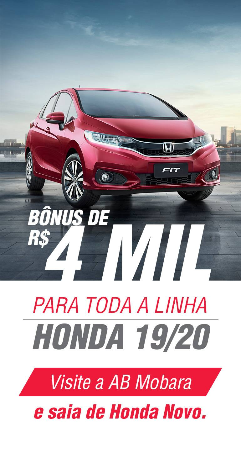 Linha Honda 19/20