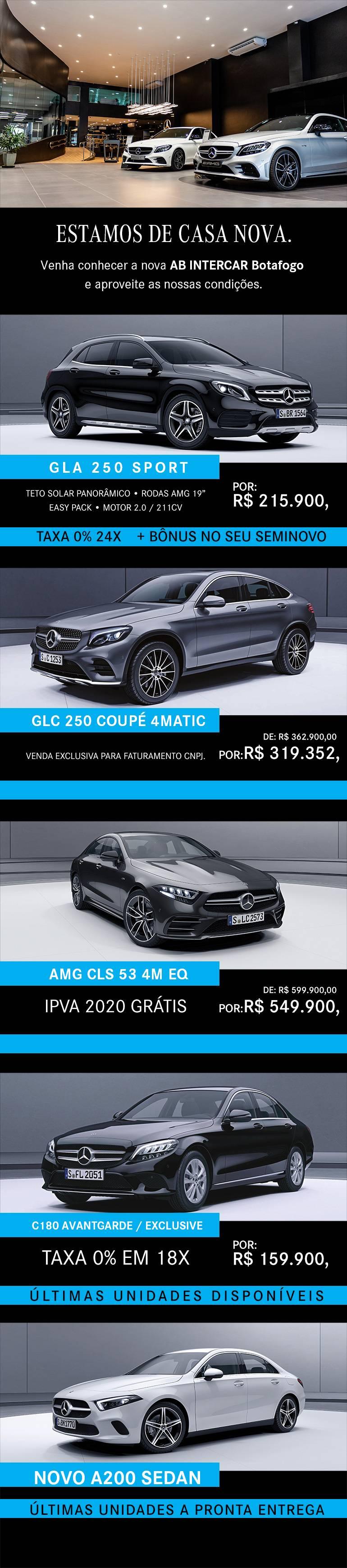 Mercedes-Benz 0KM!