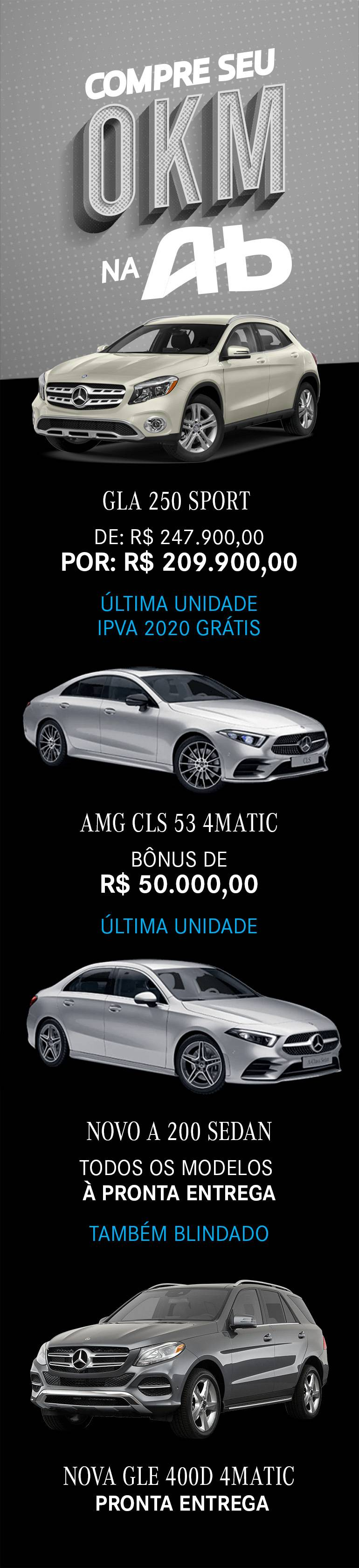 Mercedes 0KM