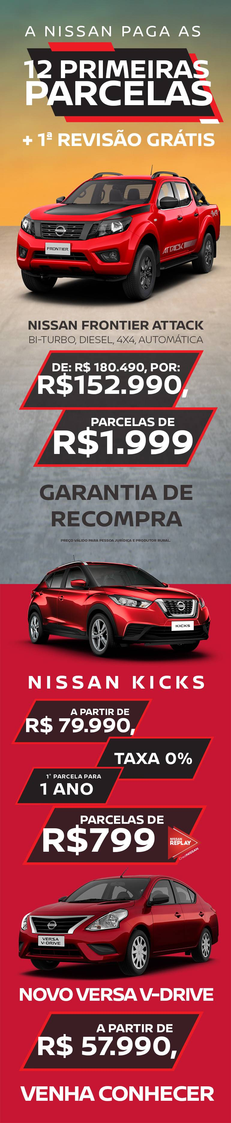 Nissan Frontier 0km