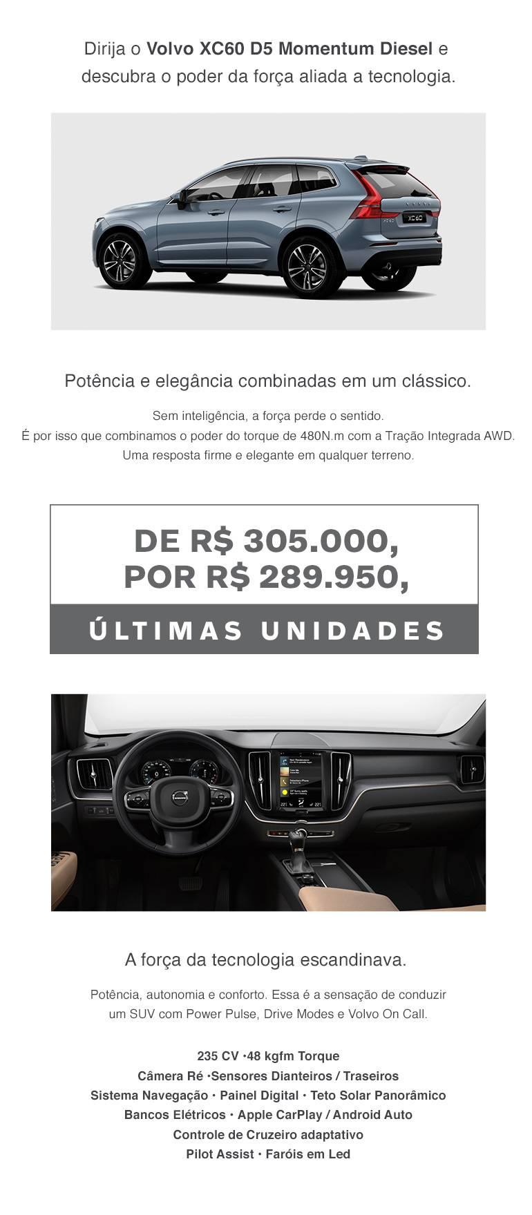 XC60 D5 Momentum Diesel
