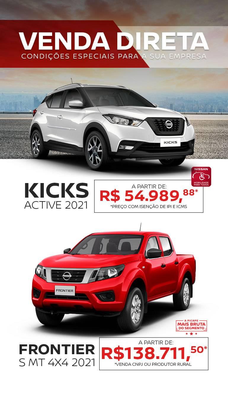 Venda Direta - Nissan