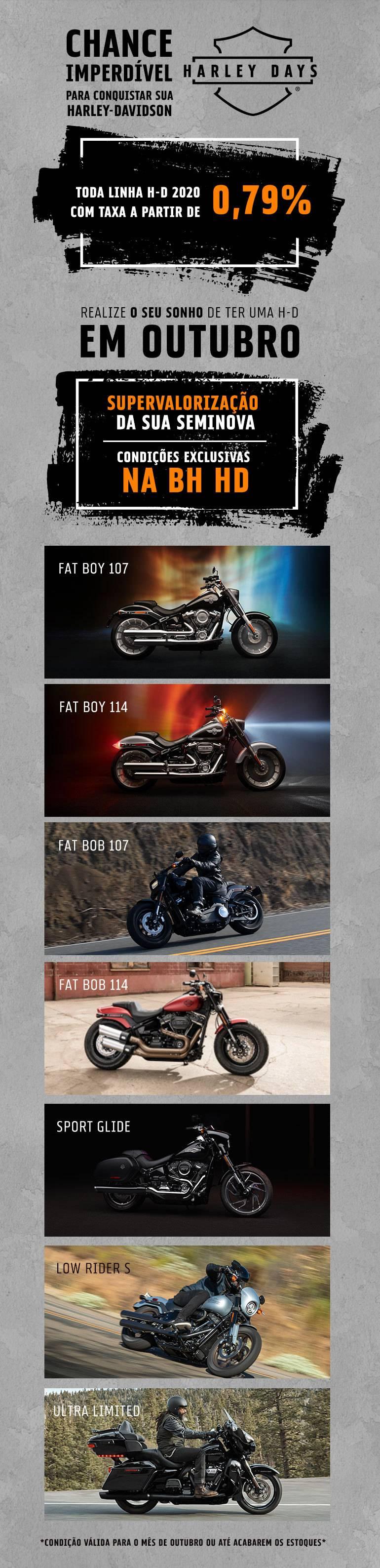 Oferta Harley 0km