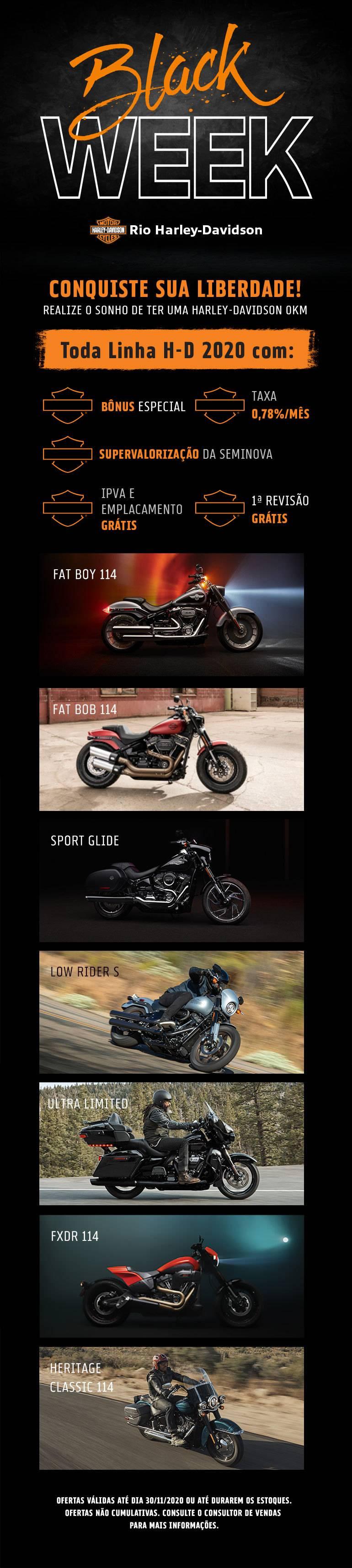 Black Week Harley-Davidson