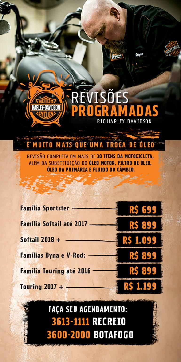 Revisões Programadas Rio H-D