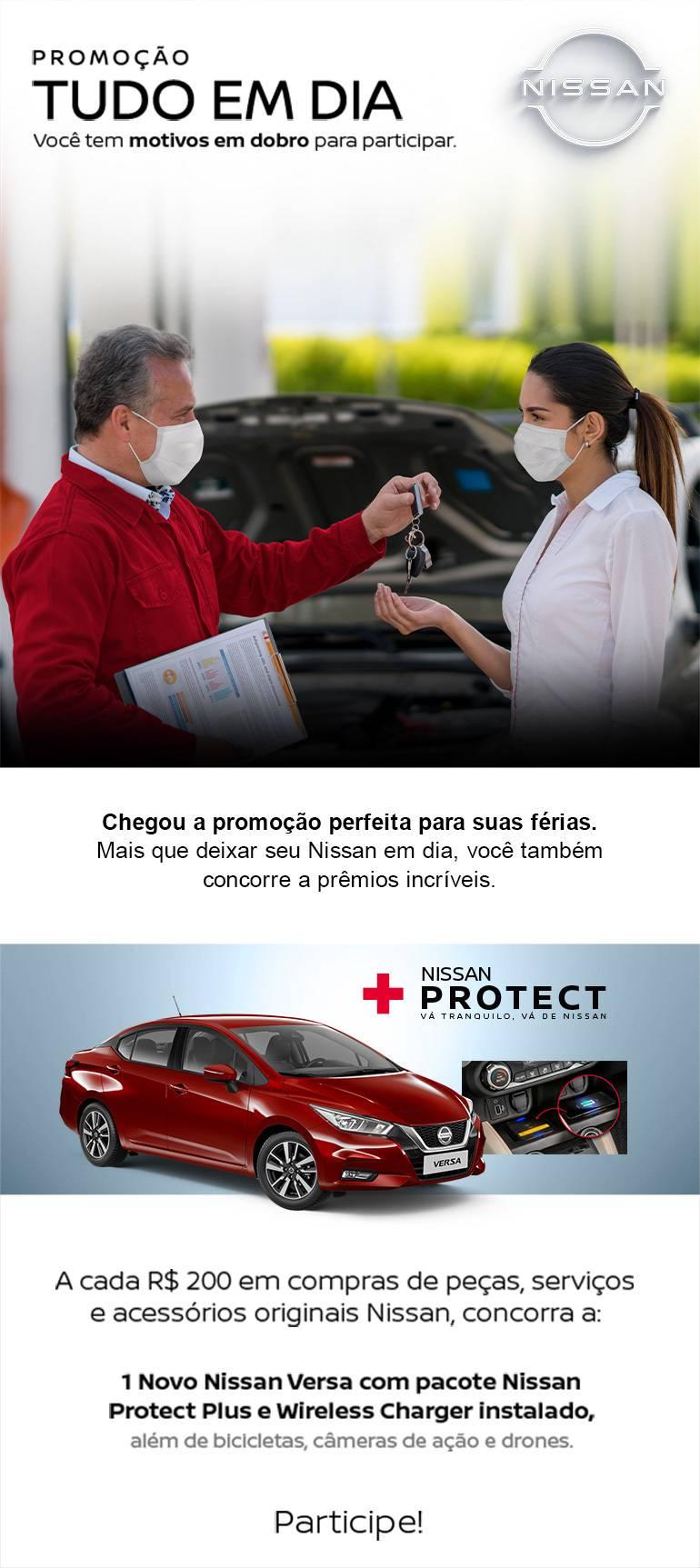 Promoção Tudo em Dia Nissan