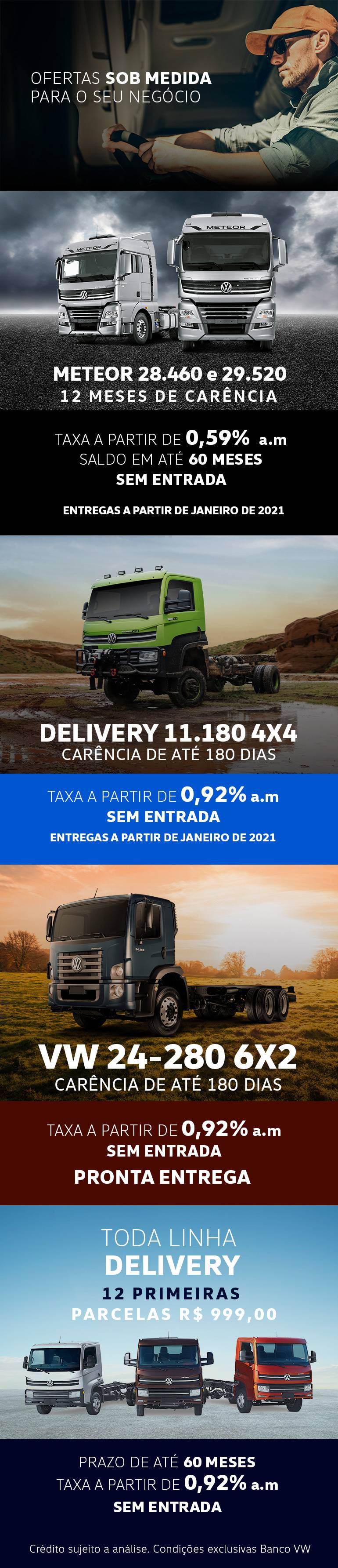 Ofertas VW Caminhões 2021