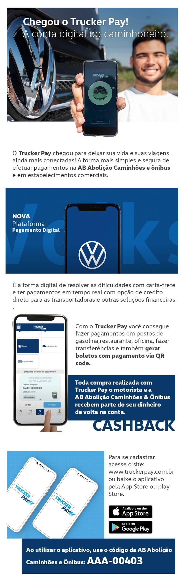 Trucker Pay - AB Abolição Caminhões