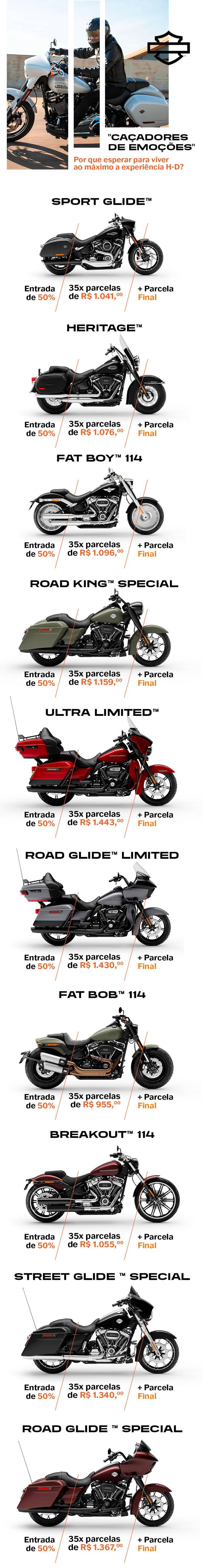 Oferta BH Harley-Davidson