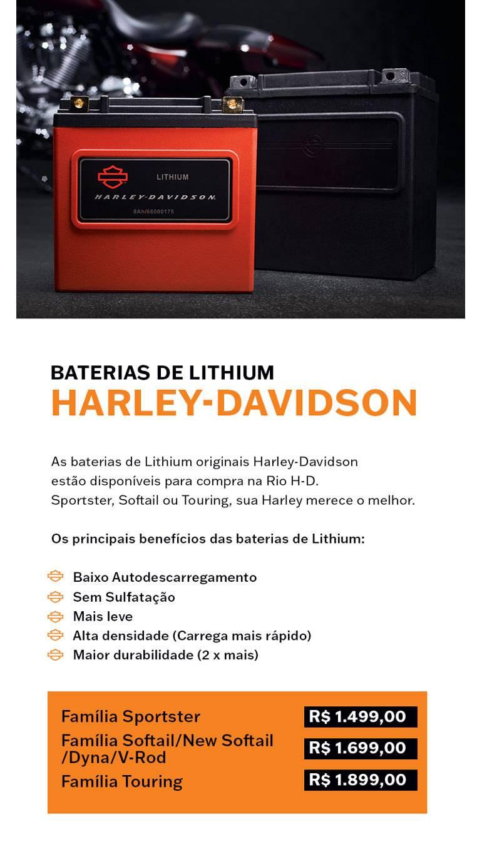 Baterias Harley-Davidson