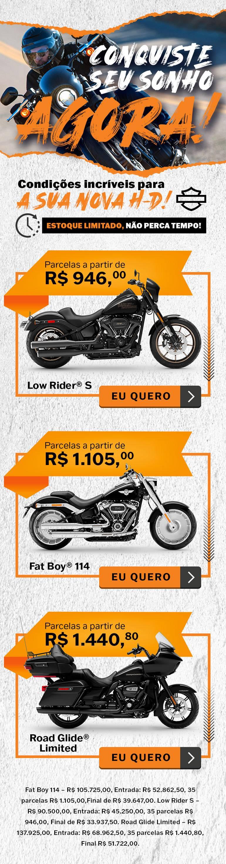 Harley 0km